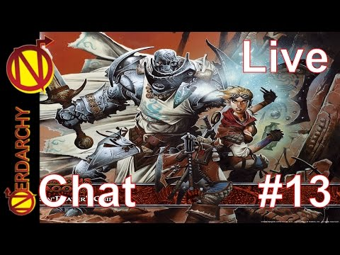 Nerdarchy Live Chat # 13- The GodFather of Eberron- Keith Baker