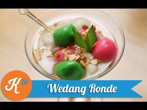 Resep Wedang Ronde (Hot Dessert - Ginger Drink With Mochi Balls Recipe Video) | MELATI PUTRI