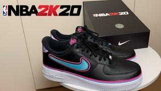 NBA 2K20 - Nike Air Force 1 Miami Vice