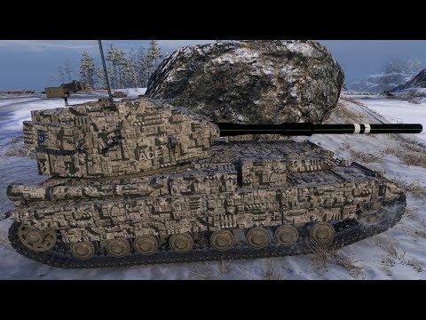 World of Tanks FV215b 183 11.605 DMG 1.378 EXP - Arctic Region