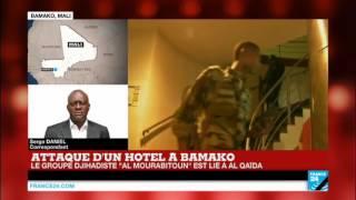 """Attaque de l'hôtel Radisson à Bamako : """"2 terroristes ont été tués, mais ils étaient 3 ou plus"""""""