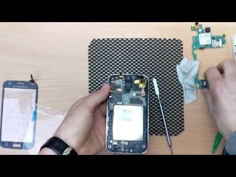 Тачскрин Samsung I8552 сенсор. Как поменять стекло I8552 как разобрать? How to repair i8552?