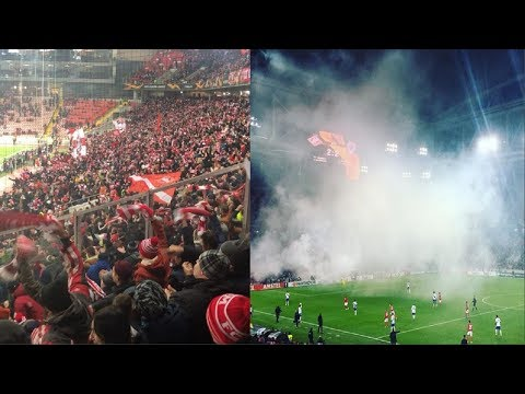 Spartak Moscow vs Rangers | Spartak Fans - Ultras Way✔