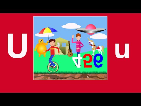 Alphabet Songs - The Letter U