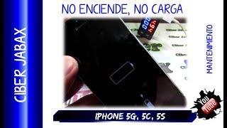 iphone 5 no enciende y no carga, increíble que suceda esto