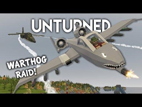 Unturned   Warthog Jet Raid! (Roleplay Survival) thumbnail