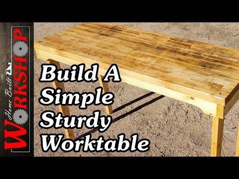 DIY Work Table (Guitar Repair Bench)