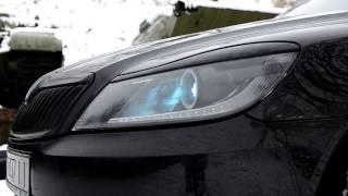 Skoda Octavia FL: LED тюнинг фар