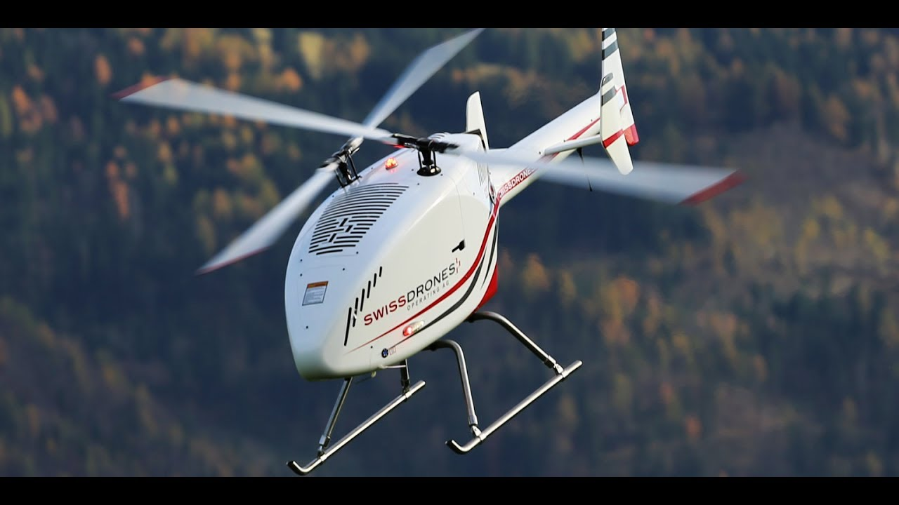 Tareq Alsaadi Swissdrones uçuruşu