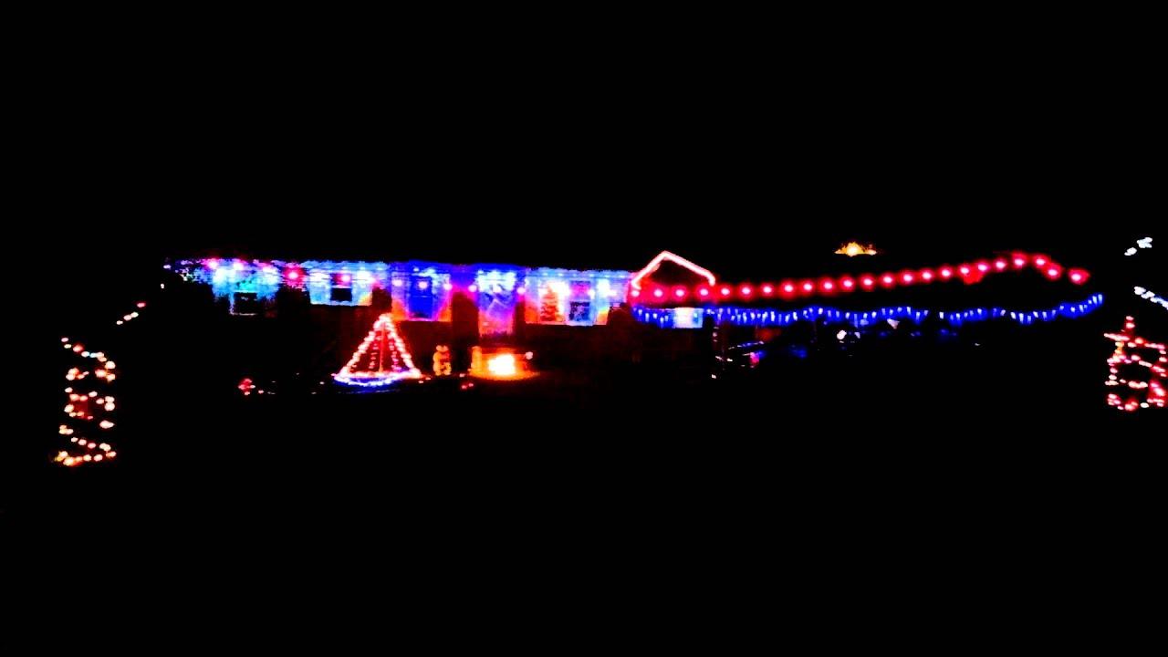 Showbox Christmas lights - YouTube