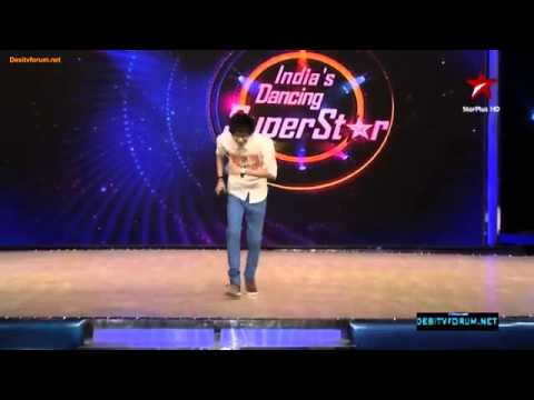 Bhumeet audition, india dancing superstar 2013