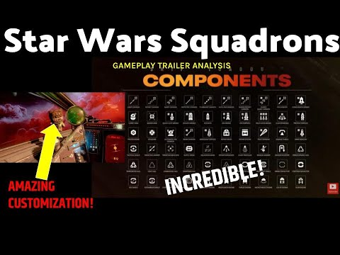 Star Wars Squadrons Is AMAZING! Gameplay Trailer Analysis