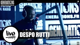 Despo Rutti - Lettre A France (Live des studios de Generations)