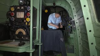 World War Two Engineer's Son Builds Replica Bomber