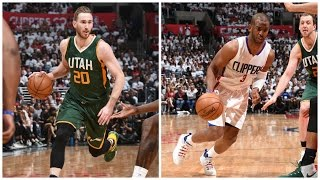 Gordon Hayward (27 Pts) and Chris Paul (28 Pts) Go Head-to-Head in Game 5 at L.A. | April 25, 2017