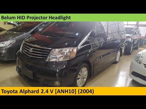 Toyota Alphard 2.4 V [ANH10] (2004) Review - Indonesia