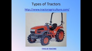 Types of Tractors