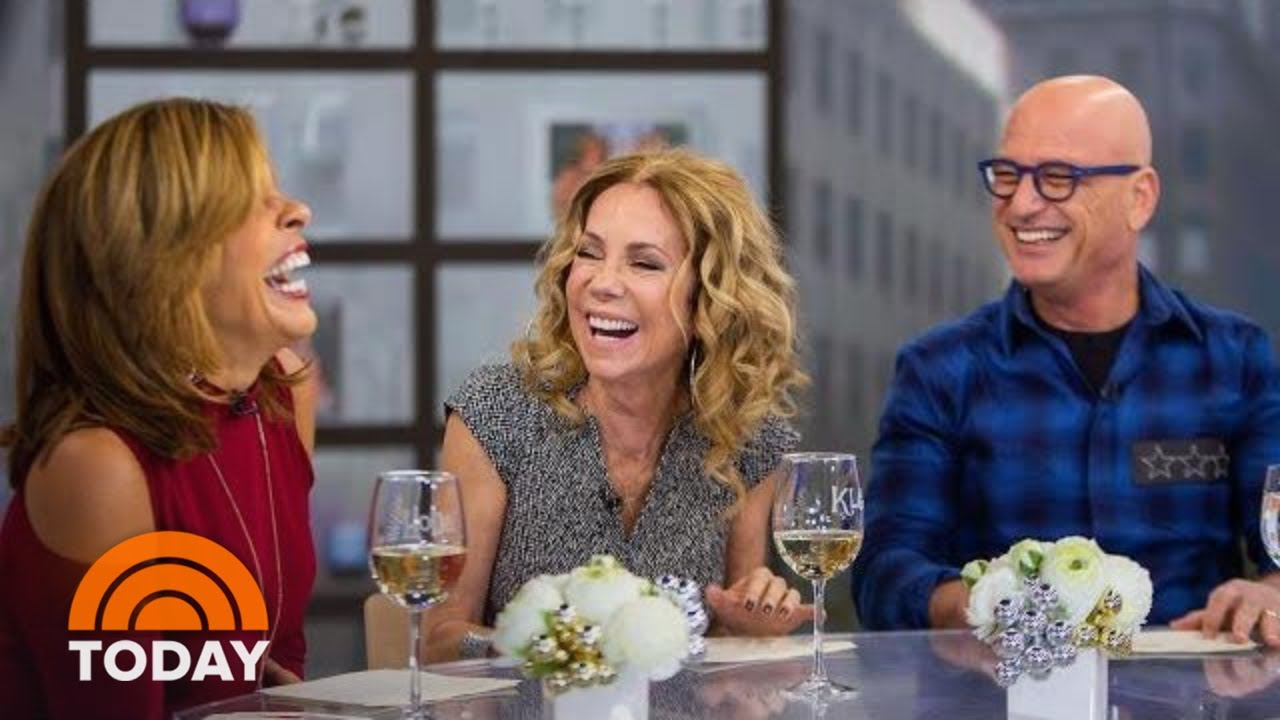Howie Mandel Gives KLG And Hoda A Peek Into His Cell Phone   TODAY