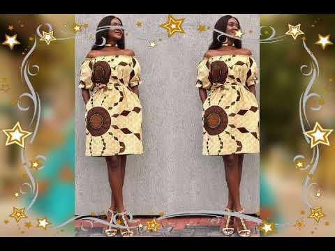 Download Modele robe africaine tendance Wax