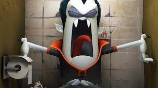 Spookiz   Stuck in the Bathroom   스푸키즈   Funny Cartoon   Kids Cartoons   Videos for Kids