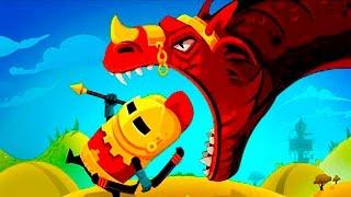КАК ПРИРУЧИТЬ ДРАКОНА мультик игра про дракона видео для детей dragon hills #КИД #КРУТИЛКИНЫ