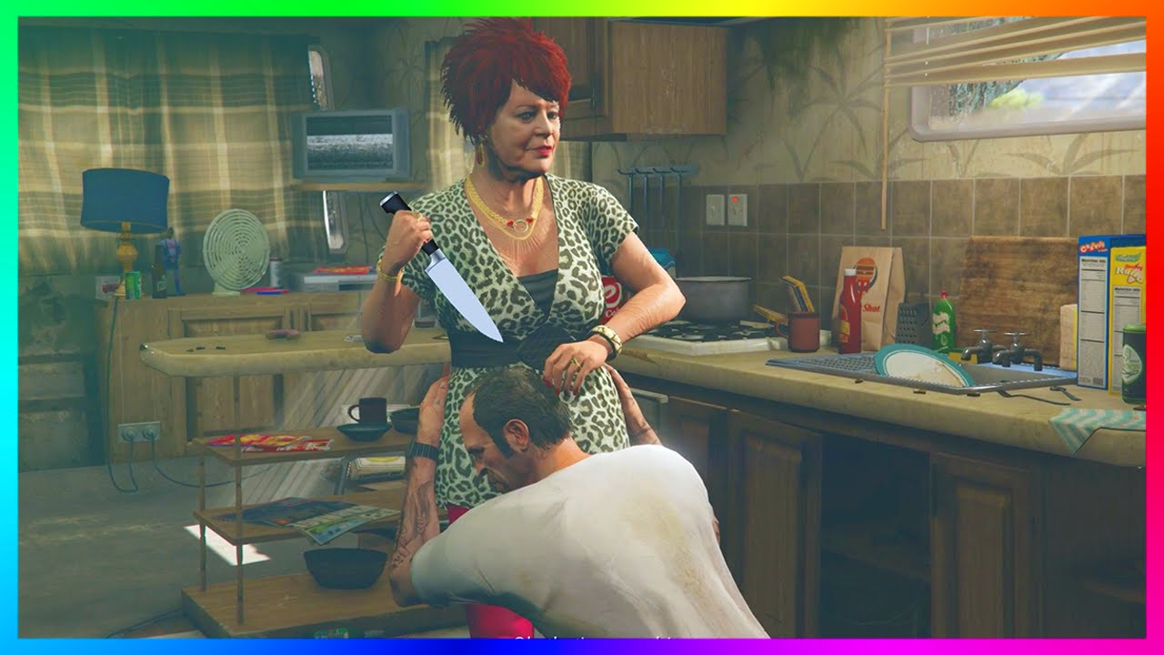 GTA 5 - DID TREVOR KILL HIS MOTHER? - Creepy/Dark Secrets + Mystery Of Mrs   Phillips (Trevor's Mom)