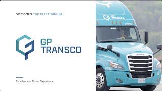 Samsara Top Fleet Awards: GP Transco | Excellence in Driver Experience