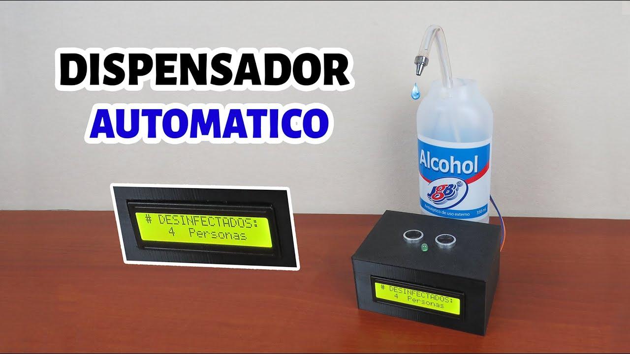 Dispensador de alcohol AUTOMATICO/Ideatronic