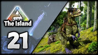 THE ARK TUNDRA! TAMING A YUTYRANNUS! | ARK Survival Evolved (The Island)