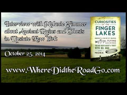 Melanie Zimmer on Ancient Ruins and Ghosts in Upstate New York - October 25, 2014