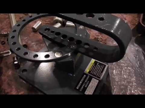 Harbor freight Compact Bender Assembly and review.