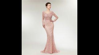 Свадебный Цветочный Принт жемчуг Кристалл женщины Макси вечернее платье Вивиан в