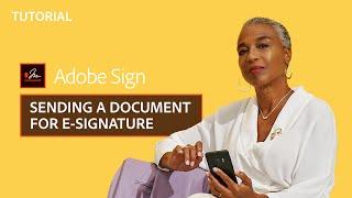 أدوبي علامة – كيفية إرسال الوثيقة عن التوقيع الإلكتروني