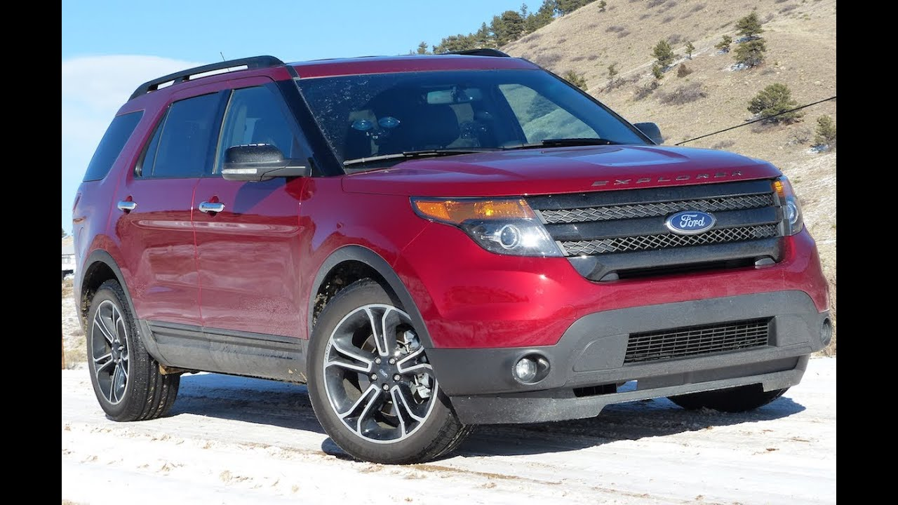 2013 Ford Explorer Sport 0-60 MPH Mile High Drive And