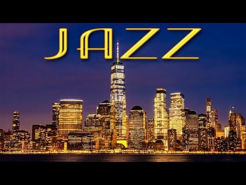 Elegant Night JAZZ Playlist - Sensual Saxophone JAZZ &  Lights of Night City - Night Traffic JAZZ
