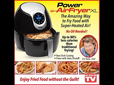 As Seen On Tv Power Air Fryer Review And Taste Test Youtube