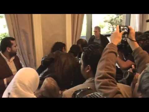 Libya: a woman