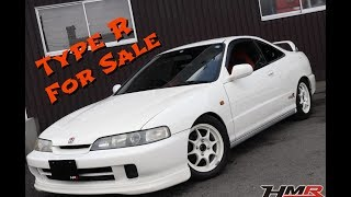 Inspecting a Honda Integra Type R for Sale!