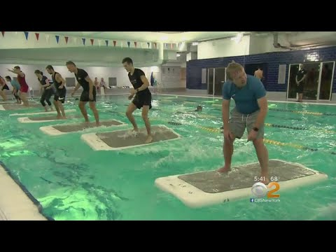 Health Watch: Pool Yoga