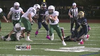 Guilford cruises past Creed, 33-14