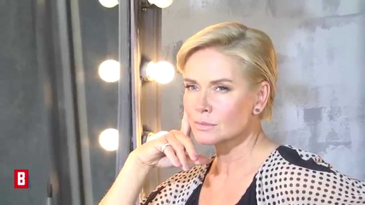 BUNTE TV - Claudia Effenberg: Backstage beim BUNTE-Shooting
