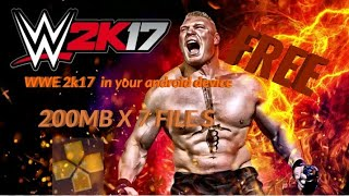 wwe 2k17 ps2 iso android