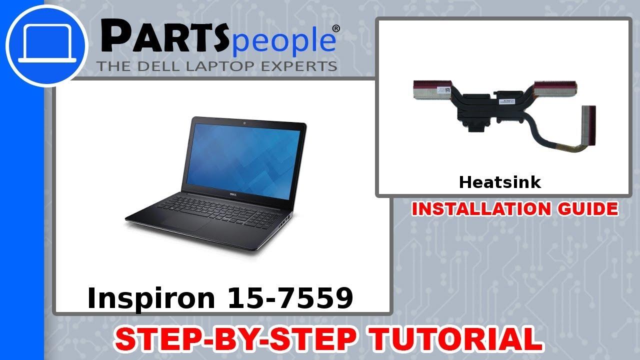 Dell Inspiron 15-7559 (P57F002) Heatsink How-To Video Tutorial