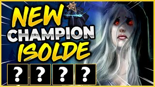 New Champion ISOLDE Overview (Control ENEMY Champions?!?) - League of Legends