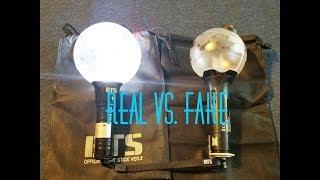 Video BTS Army Bomb Lightstick: Real Ver. 3 vs Fake Ver. 1 download MP3, 3GP, MP4, WEBM, AVI, FLV Oktober 2018