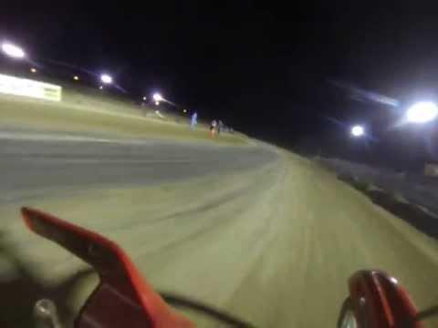 Mid-America Speedway flat track race 80-200cc 2&4st. class main