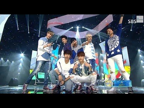 GOT7 A Stage @ SBS Inkigayo 2014.07.06