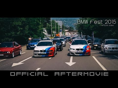 /// OFFICIAL aftermovie of BMW Fest 2015