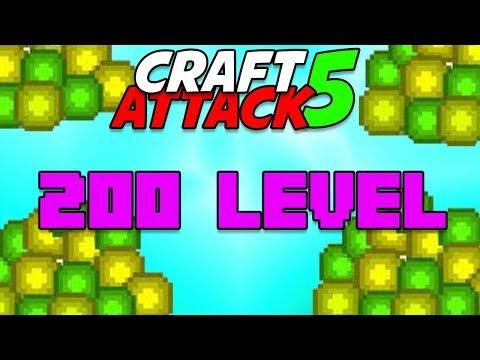 200 Level 💥 Craft Attack 5 #36 Minecraft Deutsch 💥 baastiZockt