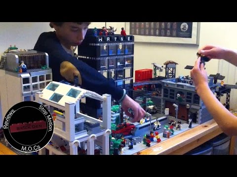 Lego Gotham City MOC Update 7: Time-lapse+Mini Builder